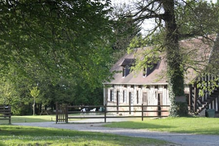 Traditional Normandy house, 26 beds, 40 hectares - Villers-sur-Mer