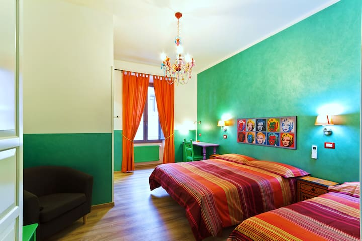 TRIPLE ROOM, Termini Station, Rome - Roma - Bed & Breakfast