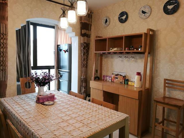 苏州平江新城万达温馨的二居室,毗邻地铁,直达火车站 - Suzhou - Leilighet