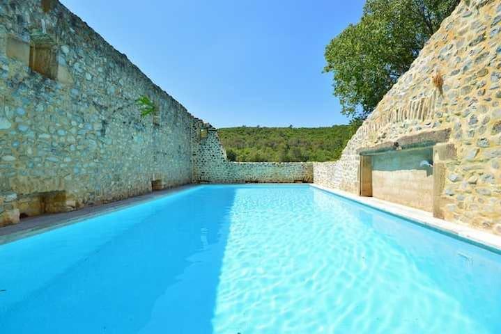 Place with lots of charm Room Daphné near Uzès! - Saint-Just-et-Vacquières - Bed & Breakfast