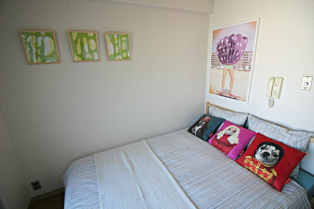 Cozy room with fashionable design : Cooking tool & Free Wifi(No limit)  Good for business trip and long stay