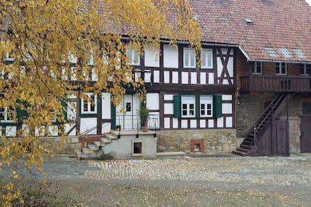 Magdalenenhof am Huywald - Kornboden mit Aussicht