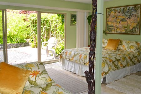 Plumeria Room w pool/hot tub on the North Shore