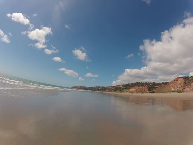 Suíte Mahalo na Praia da Peroba, Icapuí - CE