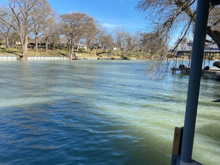 Family friendly lake front home with private dock