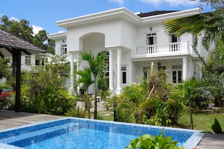 Chateau Elysium 2-bedroom villa with plunge pool 1 - Beau Vallon - Villa