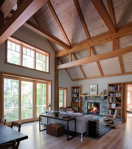 Squam Lake House on the Water - Holderness - Hus