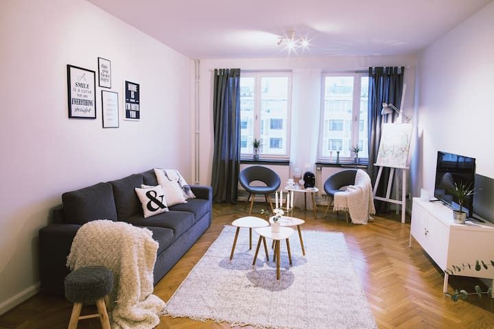 Amazing flat at Gothenburg's best location Avenyn - Göteborg - Appartement