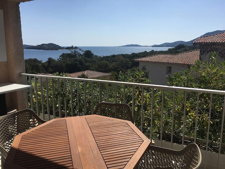 studio avec vue mer, golfe de porto-vecchio (24)