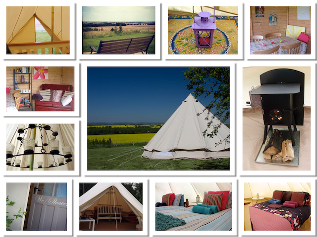 Glamping at Vale House Belvoir - Belvoir - Tepee