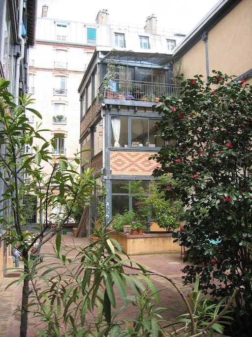 Petit 2 pi ces avec terrasse suites parentales ou for Restaurant avec terrasse ile de france