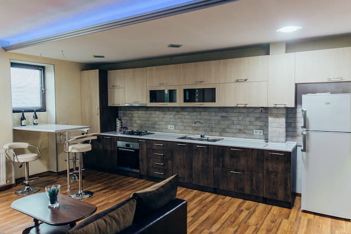 Modern 2 Bedroom Apartment in Telavi
