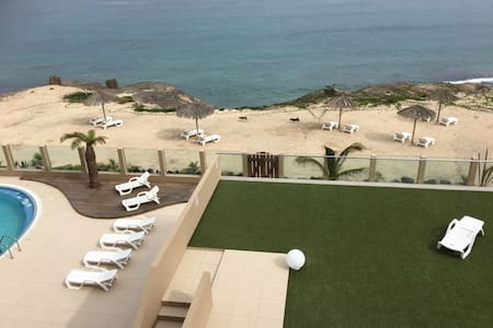Beautiful 2 bedroom Apt/Hotel steps from the ocean - Mindelo