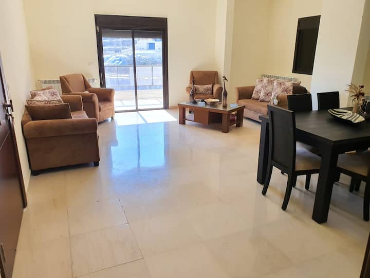 Flat in Zahle with amazing view