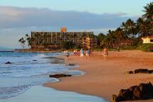 Billionaires beach, aka Keawakapu beach