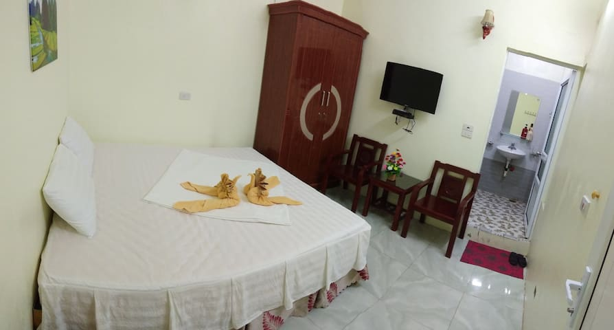 Double room with balcony, mountain view