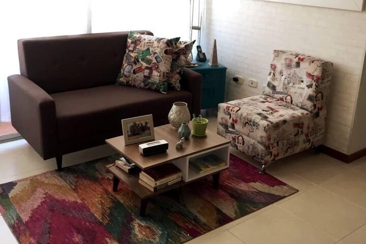 Apartamento Cómodo y Agradable