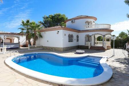 Relax, Sol, Playa, Piscina Privada, Barbacoa...!