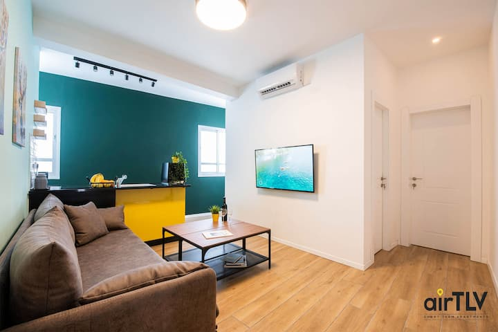 ❤️ AirTLV HaTikva Market Adorable Apartment❤️