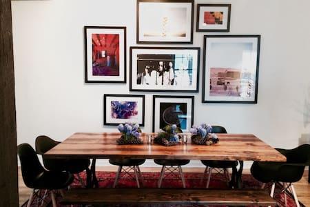 Artistic, Open Brooklyn Loft - Brooklyn - Loft
