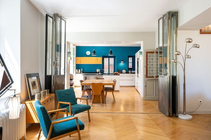 Les Carreaux - Beautiful renovated mansion house