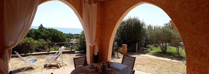 """""""La Pavoncella"""" appartamento vista mare Costa Rei"""