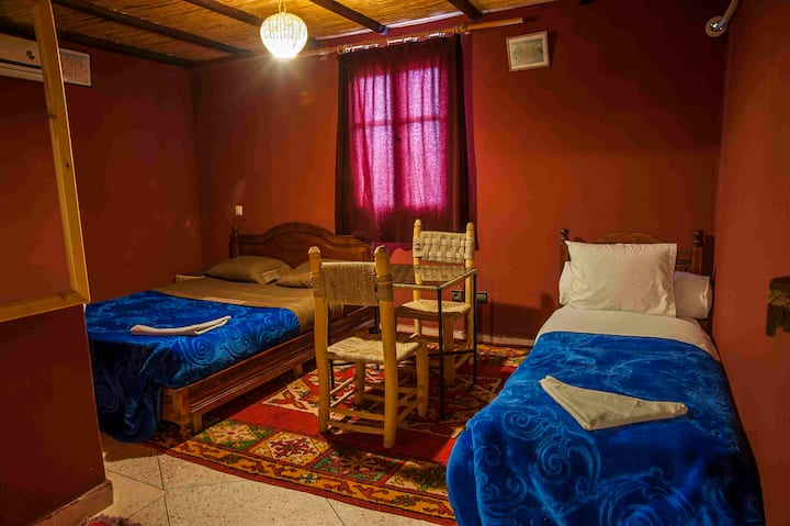 LABARAKA Auberge traditionnel chambre