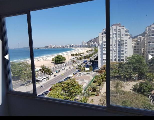 Lista do Quarto - praia de copacabana.