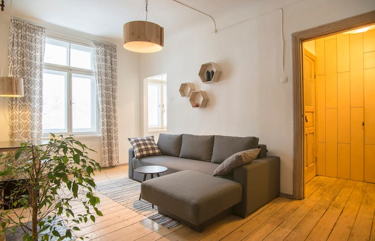 2-room apartment in charming area