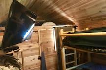 Optional bunk house.