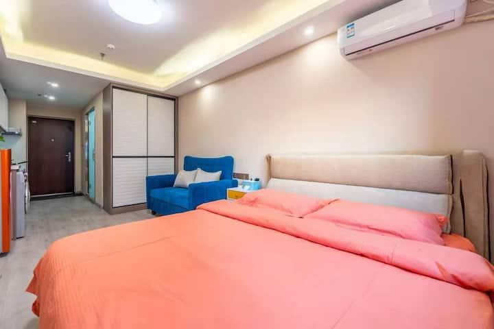 丹东市振兴区未来城-温馨小驻民宿-酒店式公寓-可做饭-成熟商业圈