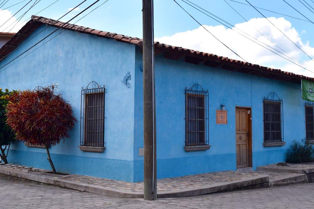 hostel iguana azul auberges de jeunesse louer copan. Black Bedroom Furniture Sets. Home Design Ideas