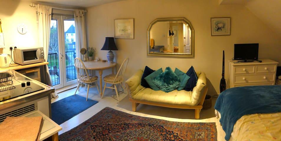 Lovely Modern Quiet Studio Room