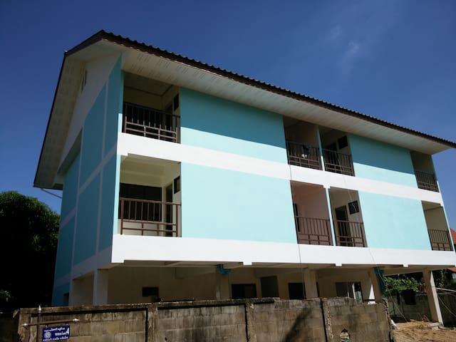 บ้านพักสีฟ้า - Wat Ket - Apartment