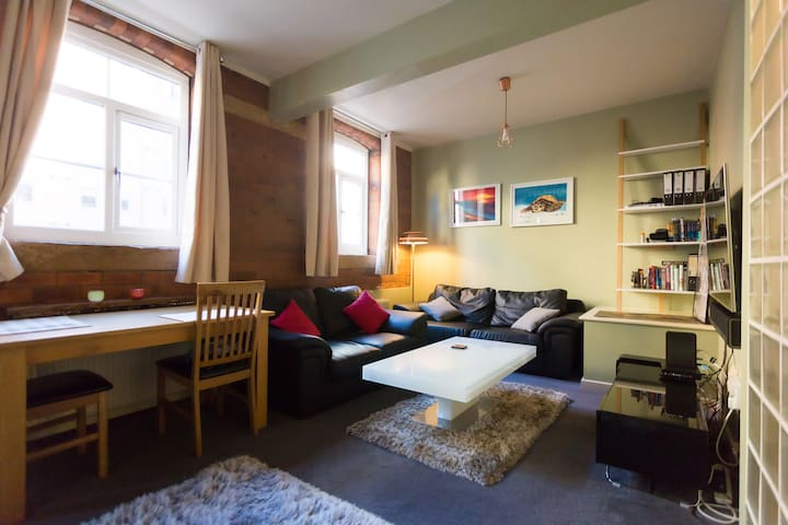 Spacious & cosy city centre flat in Kelham Island