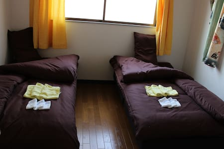 2 bed rooms in a quiet area osaka