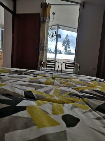 Vista de dormitorio principal