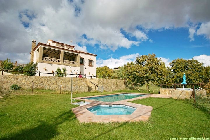 Villa with 4 bedrooms in Ronda, with private pool and enclosed garden