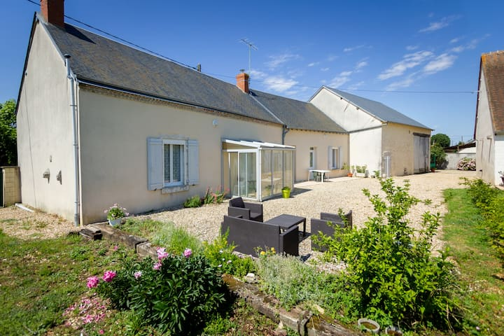 Quiet Cottage 5min from Issoudun