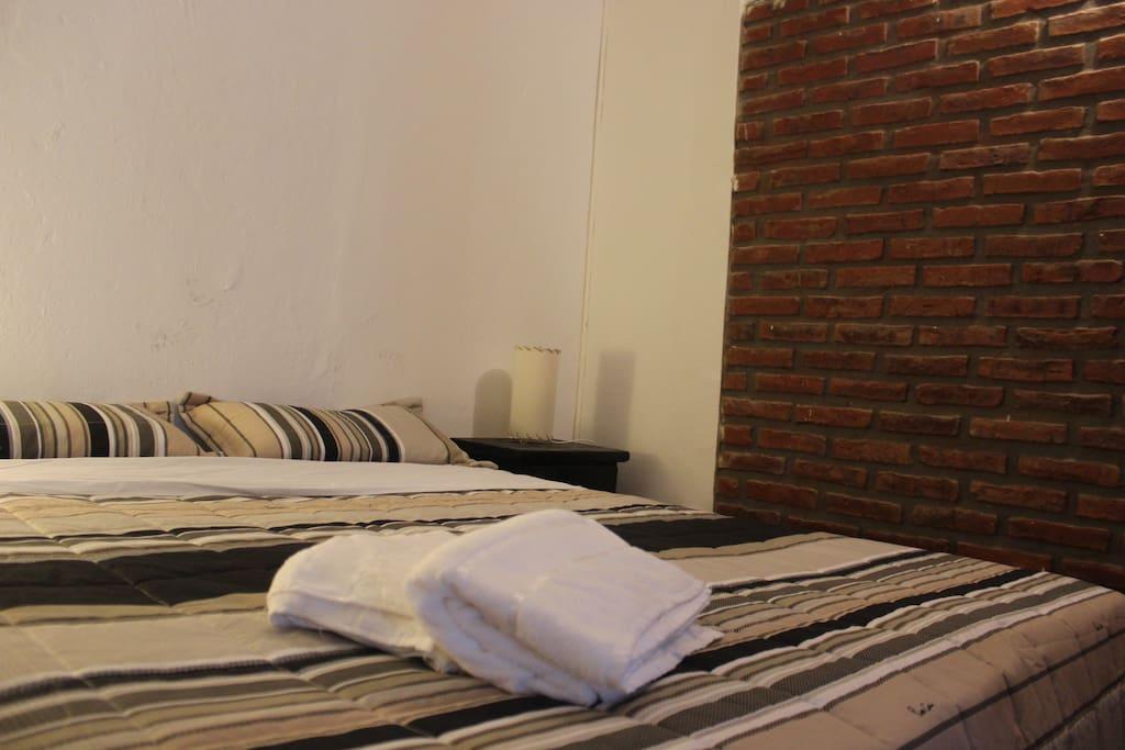Habitacion con cama doble - Queen Size