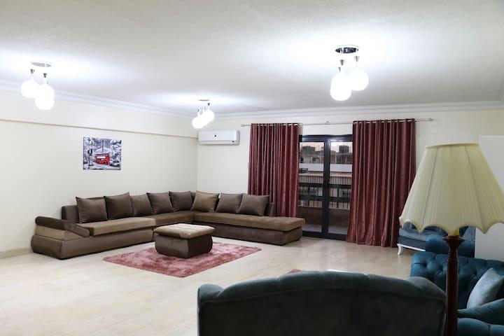 Spacious & luxurious appartment in Maadi-Cairo