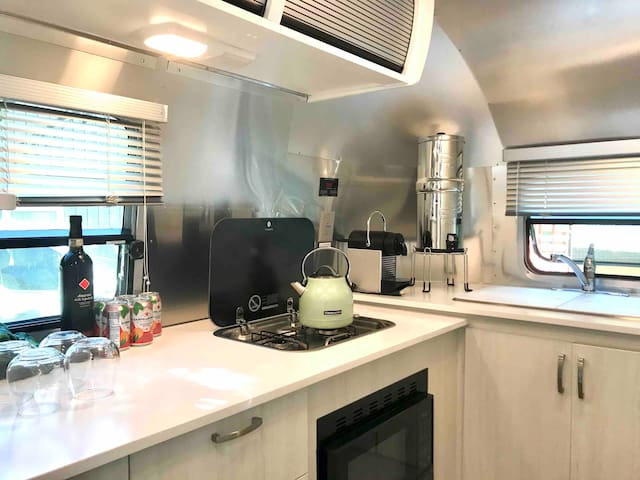 Treetopia Campground Airstream Glamping + Pool