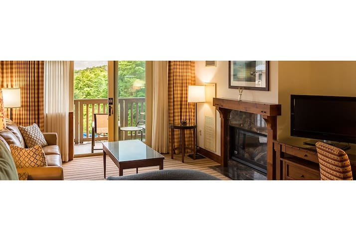 #378 * Inside The Lodge At Spruce Peak | Studio | Mountain Views! 3rd floor