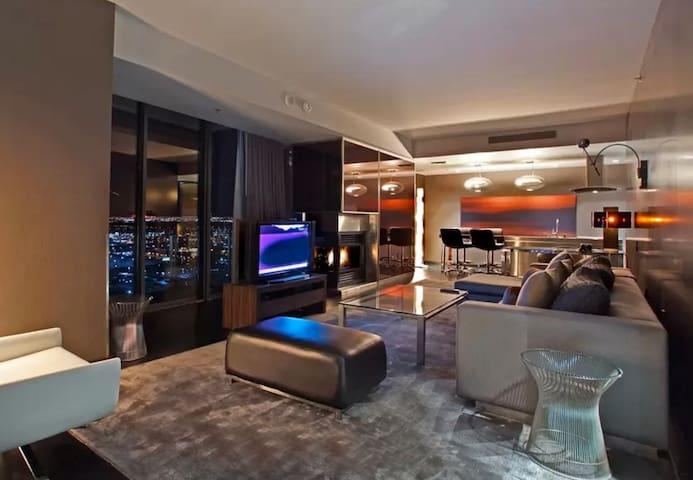 Palms Place Strip View Luxury Suite Condominiums For