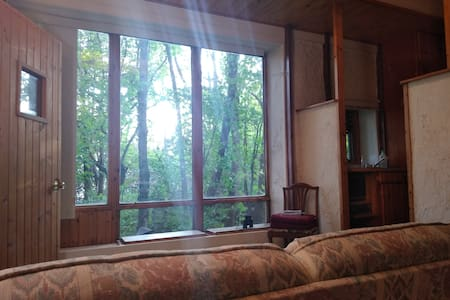 Serene Cabin for One at Spiritual Retreat Center