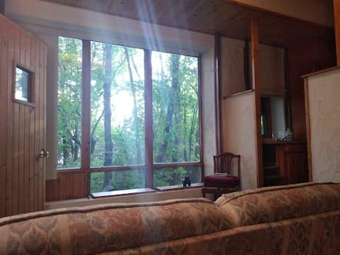 Serene Cabin for One at Spiritual Retreat Center