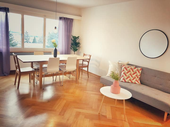 Longstay apartment with free parking close to ETH