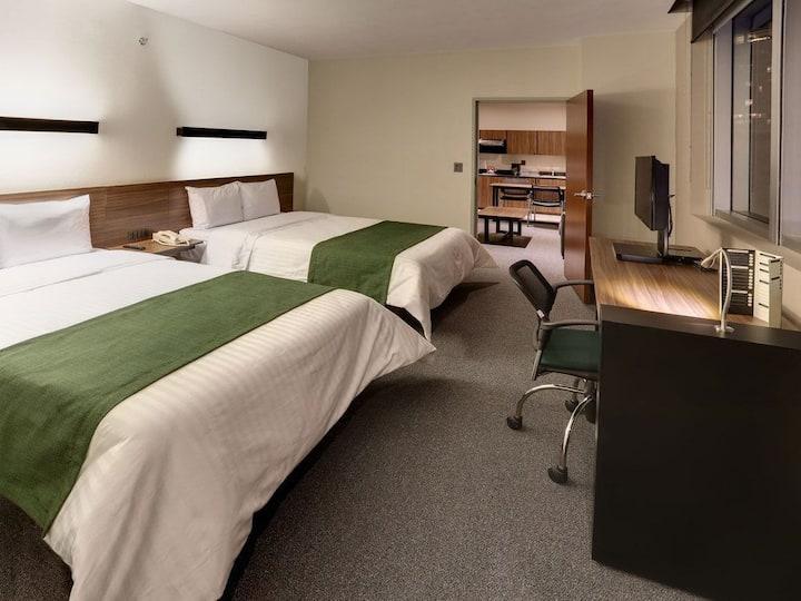 Departamento con servicios hoteleros en Santa Fe