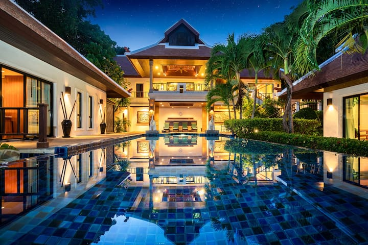 Naiharn Beach Baan Bua Private Pool Villa 4 bdrs