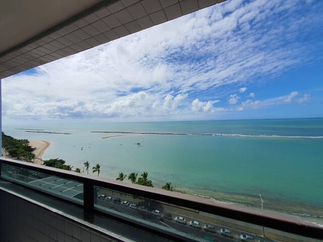 Contemple a natureza!! Flat à Beira Mar de Olinda
